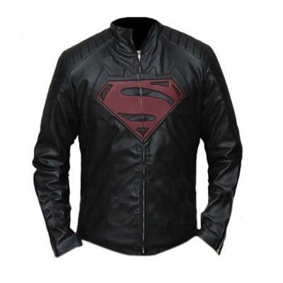 Batman Vs Superman Dawn of Justice Henry Cavil Leather Jacket