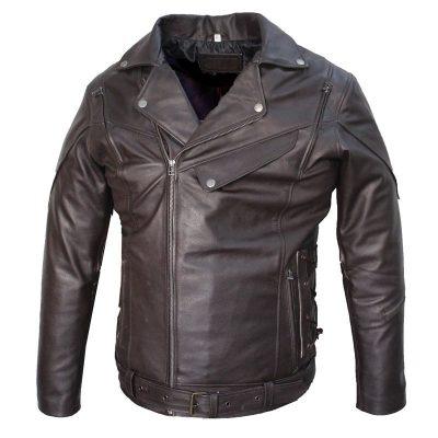 brando-biker-vintage-cafe-racer-distressed-black-leather-jacket