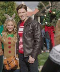 A Very Charming Christmas Town Sawyer Larsen Jacket