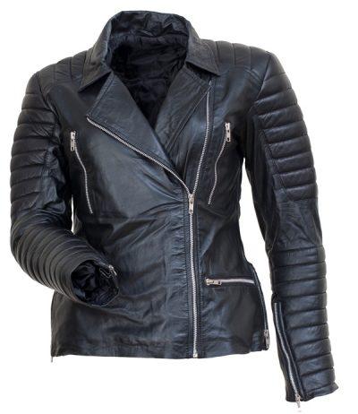 Los Angeles Bomber Motorcycle Sandra Bullock Jacket