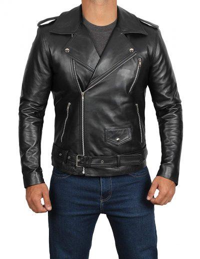 Adam Levine Black Leather Jacket