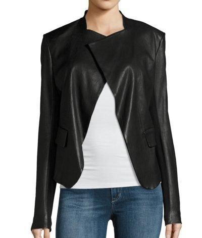 Black Drape Arrow Dinah Drake Jacket
