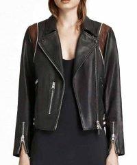 Stumptown Dex Parios Black Leather Jacket