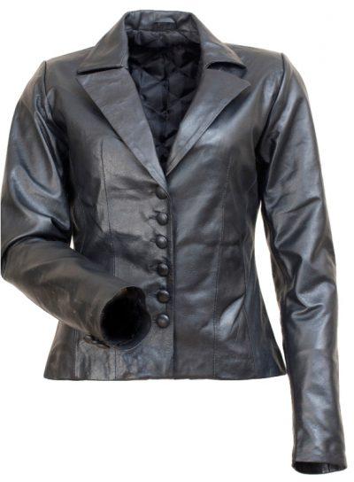Comic Con Motorcycle Angelina Jolie Black Leather Jacket