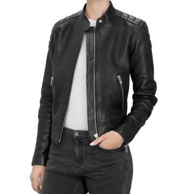 Who Clara Oswald Doctor Leather Jacket