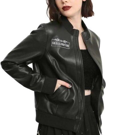 The Nightmare Jack Skellington Leather Jacket