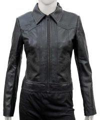 You Candace Stone Leather Jacket