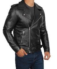 adam-levine-black-real-leather-jacket