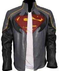 Superman vs Batman Leather Jacket