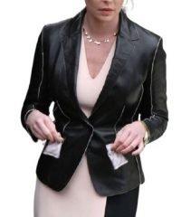 womens-katherine-heigl-black-real-leather-coat