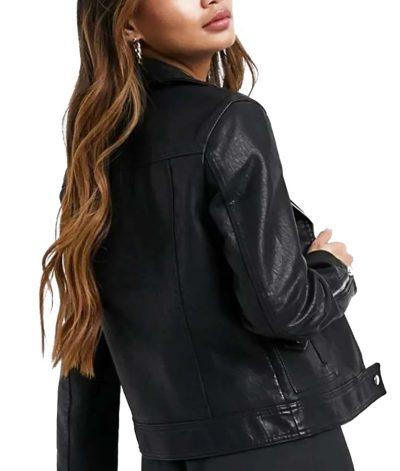 Toni Topaz Riverdale Leather Biker Jacket