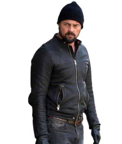 Bent Movie Danny Gallagher Karl Urban Black Leather Jacket