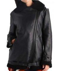 shearling-aviator-womens-black-leather-jacket