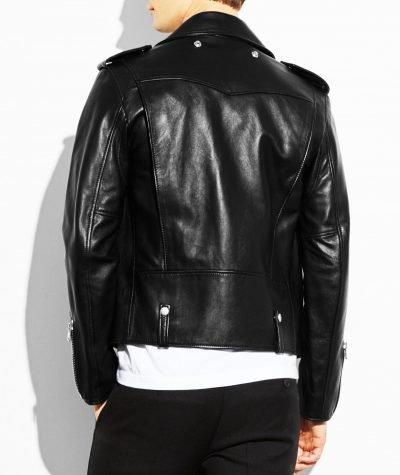 Men's Stylish Black Leather Jacket