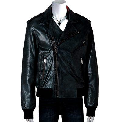 Men's Alexander Black Leather Jacket