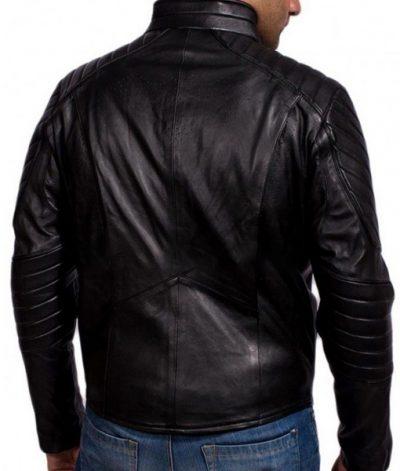 Bruce Wayne Batman Begins Leather Jacket