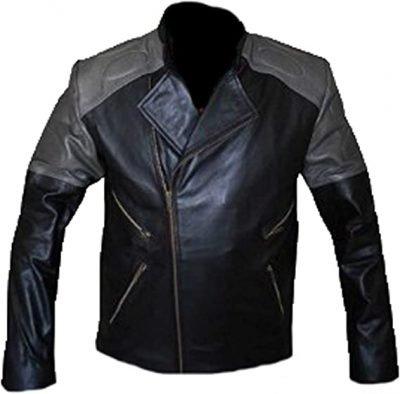 Hackers Jonny Lee Miller Multi Pockets Leather Jacket
