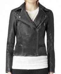 Agents Shield Skye Leather Jacket