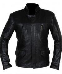 Dark Matter TV Series Marcus Boone Black Leather Jacket