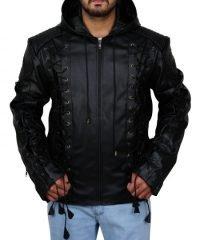 colton-haynes-arrow-arsenal-hoodie-leather-jacket