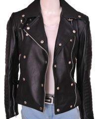 cara-delevingne-stylish-bikers-leather-jacket