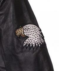 USA Flag American Eagle Leather Jacket