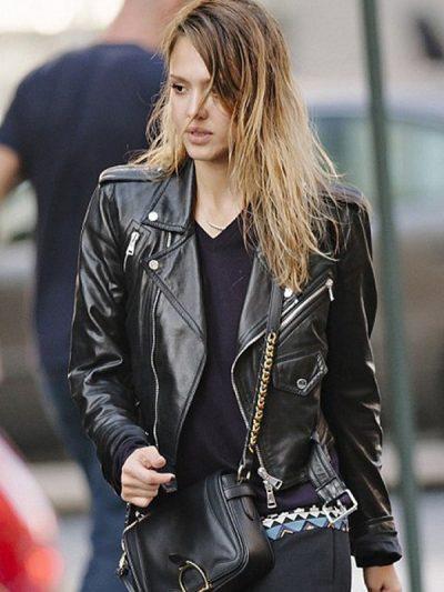 outerwear-jessica-alba-black-leather-jacket