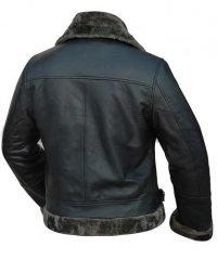 mens-black-leather-jacket-b3-raf-sheepskin-fur-shearling