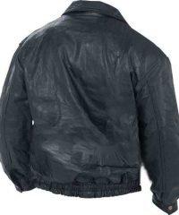 mens-bomber-flight-coat-black-biker-jacket