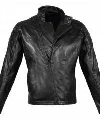 Metal Gear Solid Black Motorcycle Leather Jacket