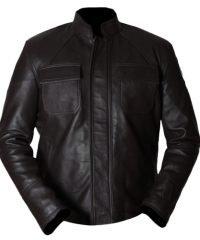 Oscar Isaac Star Wars The Last Jedi Leather Jacket