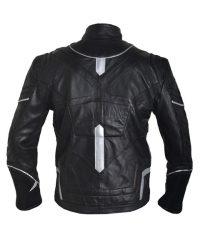 Avengers Infinity War Black Panther Costume Black Leather Jacket