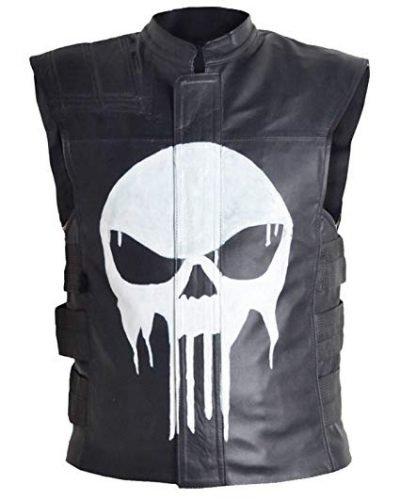 The Punisher Frank Castle Quilted Vest