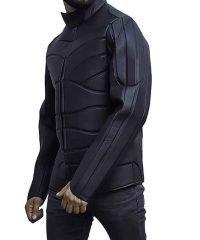Hobbs and Shaw Idris Elba Brixton Costume Black Leather Jacket