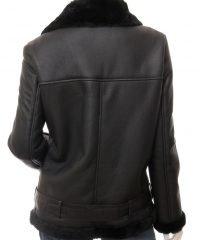 womens-lambskin-black-shearling-bomber-leather-jacket