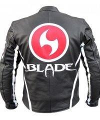 Blade Armor Biker Leather Jacket