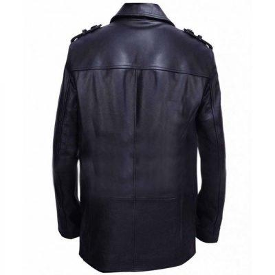 Blood Clive Owen Black Leather Jacket