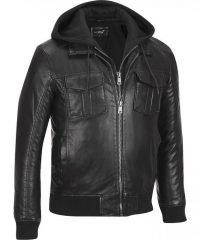 black-rivet-bomber-faux-leather-jacket