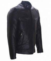 Donnie Yen Black Leather Jacket