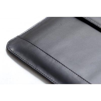Premium Top Grain Cow Leather Sleeve for Macbook Pro 2016-2020 - Black