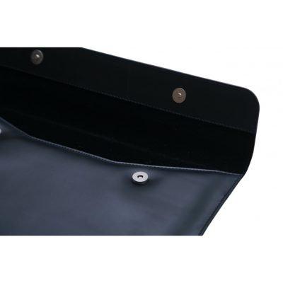 Premium Top Grain Cow Leather Sleeve for Macbook Pro 2016-2020 - Navy Blue