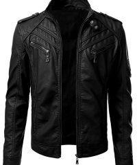 Moto Biker Jacket Mens Motorcycle Wear