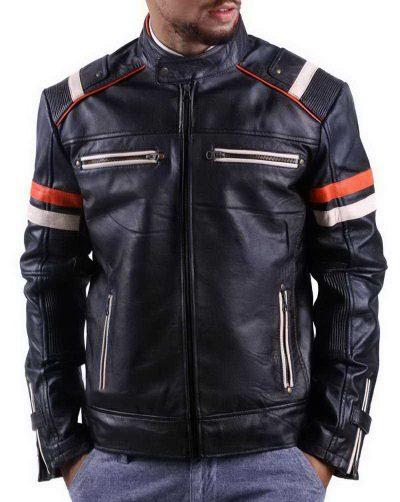 Cafe Racer Retro Jacket Black