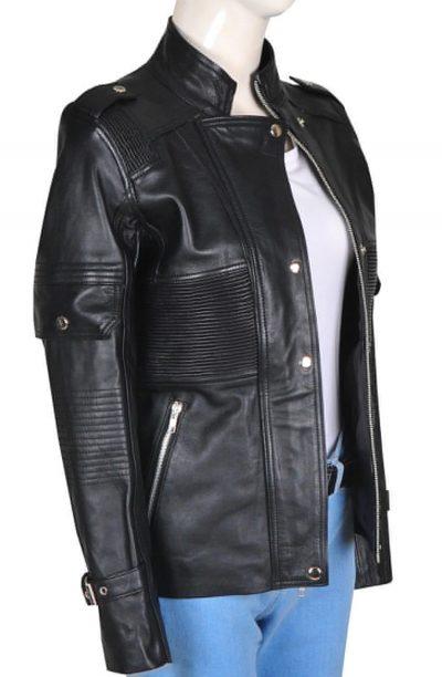 amanda-tapping-sanctuary-helen-magnus-leather-jacket