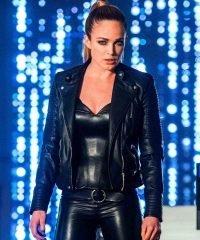 Legends of Tomorrow Sara Lance Black Leather Jacket