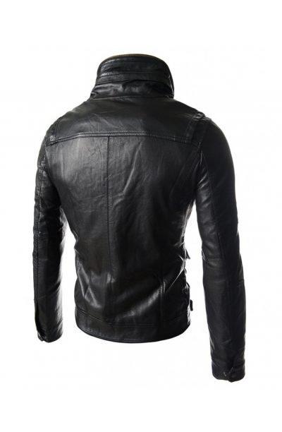 high-neck-wire-mens-slim-fit-black-leather-biker-jacket