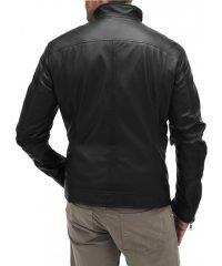 Oliver Queen Black Leather Jacket - Arrow Stephen Amal Black Jacket