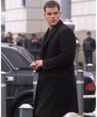 Matt Damon The Bourne Supremacy Black Coat