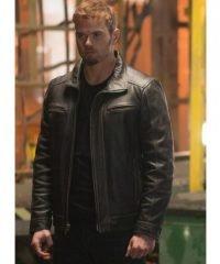 Kellan Lutz Extraction Film Harry Turner Leather Jacket