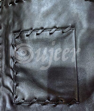 The Virginian James Drury Cowboy Leather Vest